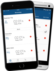 time tracking offline apps iOS and Android