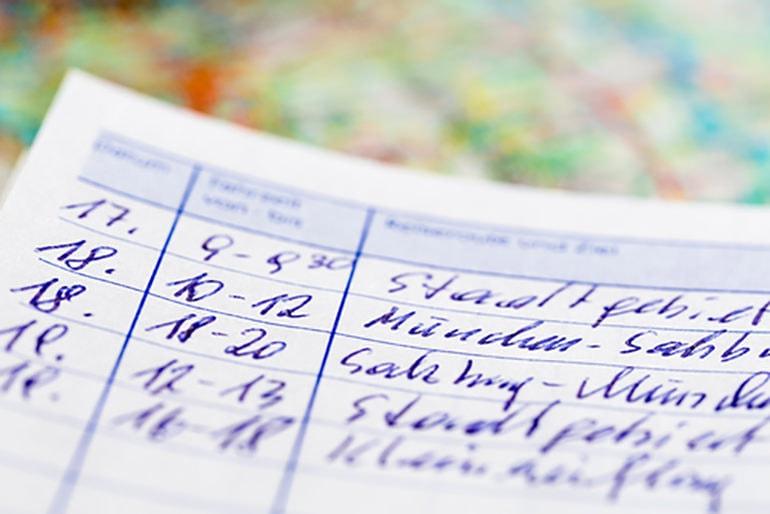 ein fahrtenbuch beispiel zur anschaulichen erklrung timr - Fahrtenbuch Muster