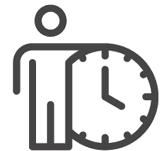 Mitarbeiter Self Service Icon