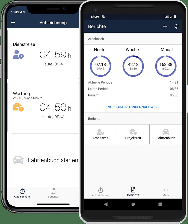 timr zeiterfassung stempeluhr app