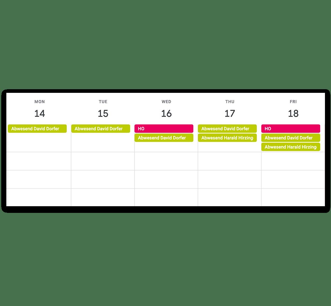 timr Kalenderlink