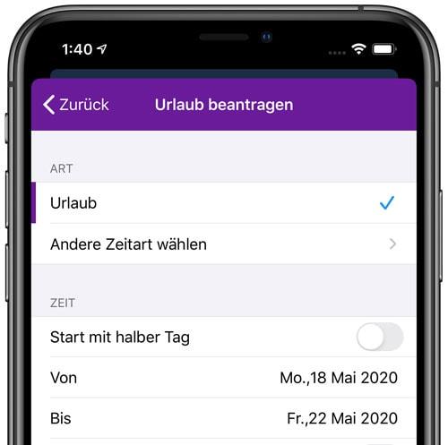 timr Benutzer Dashboard Übersicht