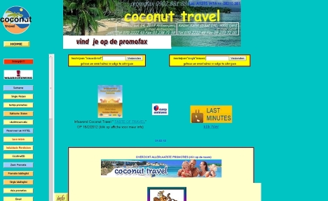 coconut travel